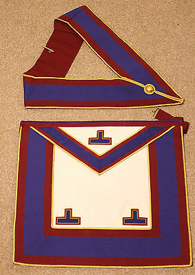 NEW Masonic Mark Provincial UnDress Apron and Collar Standard Quality