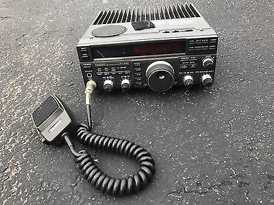 Yaesu FT-890 HF Transceiver Ham Radio With Mic Fresh Estate As-Is