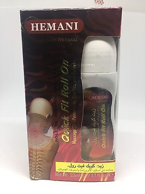 Quick Fit Roll On Hemani 50ml