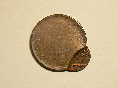 US Lincoln Cent, Struck Off Centre  #G4351
