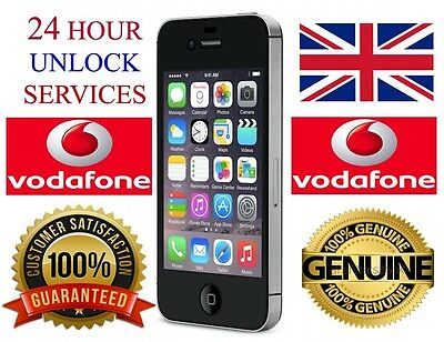 Vodafone Uk Network  Iphone 4 4S 5 5S 6 6 Plus Factory Unlock Service Speedy Unl