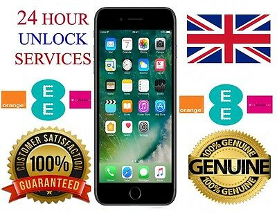 Ee Orange T Mobile Uk Network  Iphone 4 4S 5 5S 6 6 Plus Factory Unlock Service
