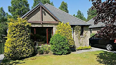 AVIEMORE HOLIDAY HOME 3 BEDROOM BUNGALOW SLEEPS 6: 29th JULY to 5th AUGUST 2017
