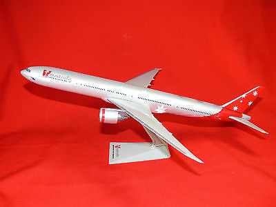 Virgin V AUSTRALIA Didgeree Blue BOEING 777-300 Airliner 1:200 Model COLLECTORS