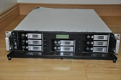Thecus N8800 Pro NAS Server, 4GB, 2x1.5TB HDD`s Running Xpenology/Synology