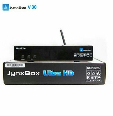 Tv Satellite receiver Jynxbox ultra hd V30 with build in jb200 wifi antena