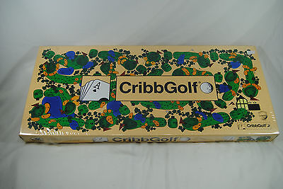 Cribbgolf Brand New in Sealed box cribbage Board Game by JK games Inc