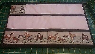 New horse / pony plaiting apron