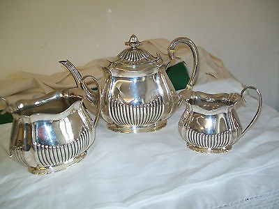Beautiful antique solid silver tea set hallmarked Sheffield 1912 maker Henry Atk