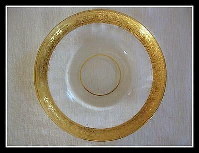 Antique Heavy Gold Plated Saucer For Gold Recovery