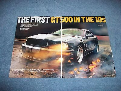 "2007 Shelby GT500 Drag Car Article ""The First GT500 in the 10's"" Mustang"
