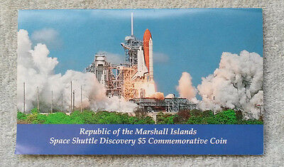Space Shuttle Commemorative  Coin  Republic Of The Marshall Islands