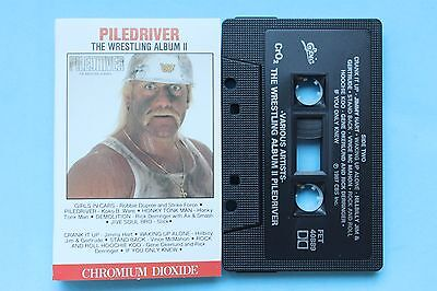 Piledriver The Wrestling Album Ii Cassette Tape Epic Canada 1987 Mint Rare