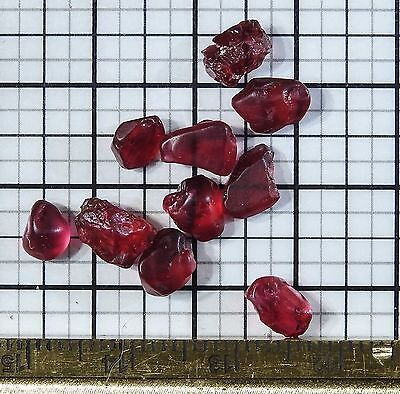 12.5 ct Small VVS Facet Grade Noble/Fine Red Spinel (Mogok/Burma/Myanmar)