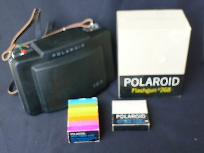 Polaroid 180 Instant Film Camera with Accessories, Very Nice
