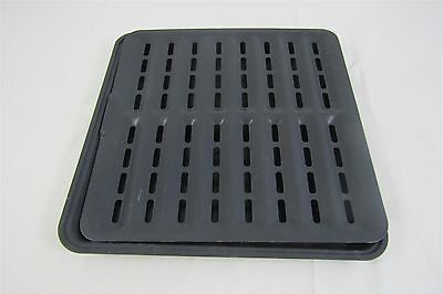Ronco SHOWTIME Rotisserie 4000 Series Replacement Drip Tray Pan and Grate