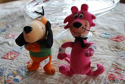 Hanna Barbera Augie Doggie & Snaggle Puss Dairy Queen  Kids Meal Plush Toys
