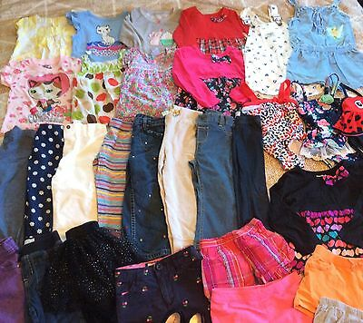 Baby Girl 32 Piece Toddler Clothes 24 Months 2T Summer Outfits