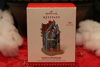 Hallmark Ornament: 2015 Mickey's Fire Brigade, Disney Mickey and Friends