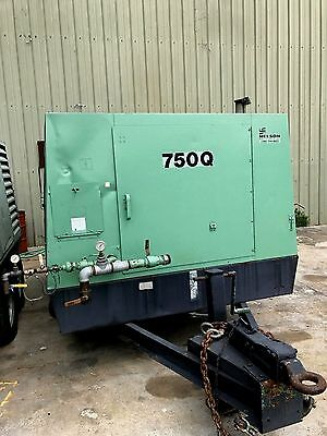 Sullair 750 CFM Diesel - Portable Air Compressor - John Deer engine
