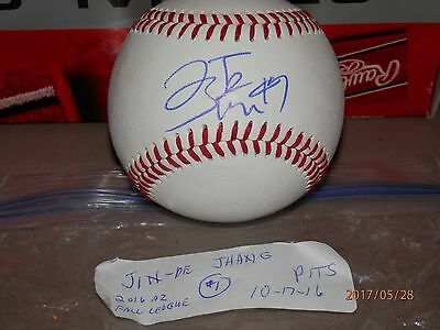 Omlb Signed Baseball By Jeremy Reid With Coa Balls