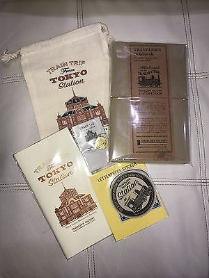 Traveler's Notebook Tokyo Station Edition Complete Set w/ Extras (USA Shipping)
