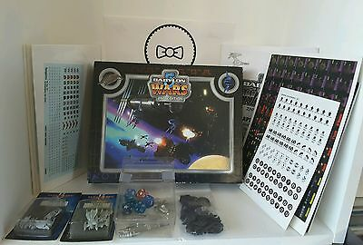 BABYLON 5 WARS 2nd editon BW-151..lot of various pieces