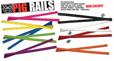 "PIG WHEELS PIG RAILS 14.3/8""  Skateboard Rails"