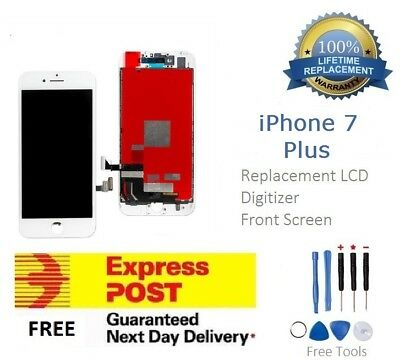 for iPhone 7 Plus White LCD Touch Screen Replacement Digitizer Assembly