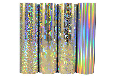 Craft Dragon foil 4 pack holographic TODO foil hot foiling stamping print 65 p/m