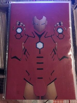 Civil War II Issue 1 Negative Space Variant JTC exclusive