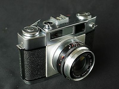Ricoh Max 35mm Rangefinder Camera with 45mm f/2 Lens, Very Rare