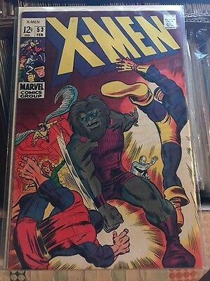 X-Men #53 1st Barry Smith Art Silver Age