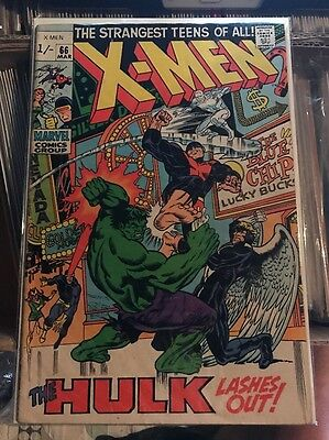 X-Men #66 'The Hulk Lashes Out!'