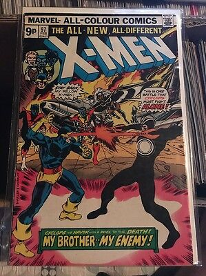 X-Men #97 - UK Price Variant - Marvel 1976