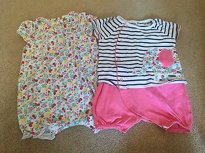 Girls Next Summer Rompers 9-12 Months
