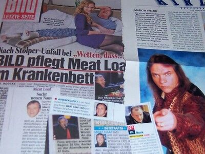 Meat Loaf 17 pc German Clippings Collection