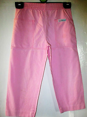 Girls Cute Vtg  Pale pink Adams  Trousers 90 cm age 3-4 yrs  104 cm