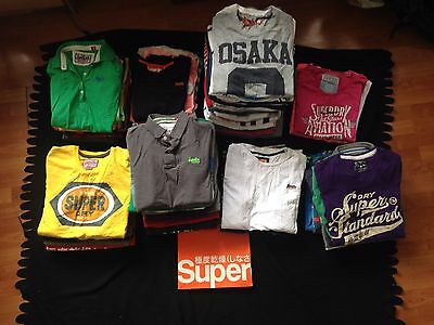 Mixed SUPERDRY WHOLESALE/ JOBLOT Assorted Sizes XS-XXL (X88) , 100% Genuine