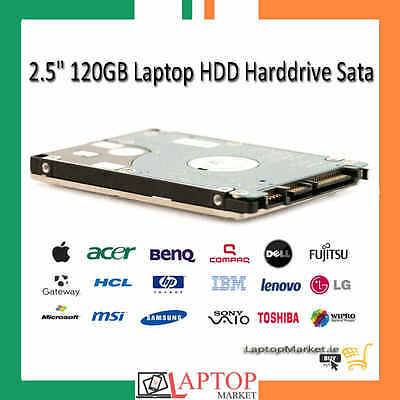 "120GB 2.5"" SATA Hard Drive Laptop Notebook Internal HDD 3 Months Warranty"