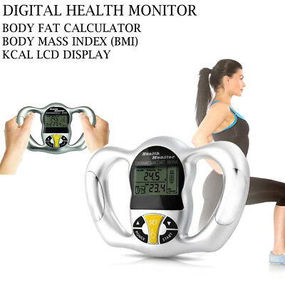 New In Box Fat Analyzer KCAL LCD Display Body Fat Calculator Health Monitor BMI