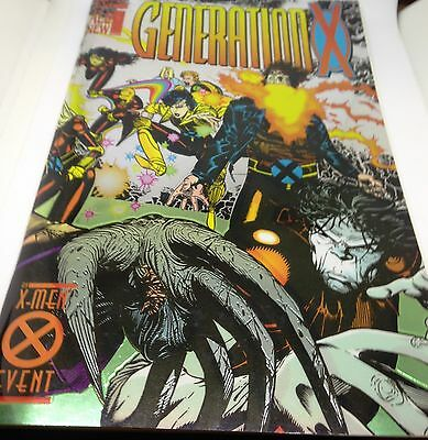 C64 Generation X  Volume 1 (Issue:1) Nov 1994 Marvel Comics Foil cover