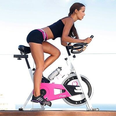 Fitness 7003 Spinning Bike, Home Gym Workout Exercise Calorie Fat Burner System