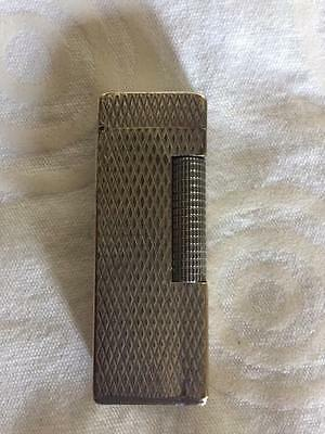DUNHILL Vintage accendino silver plated anni 70