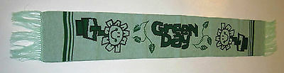 Green Day Kerplunk Woven Scarf, Punk Rock