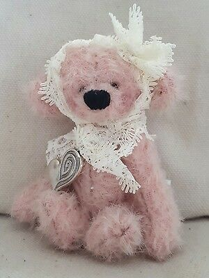 Heidi ooak mohair artist bear by heartfelt bears