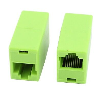 RJ45 Cat5e Joiner Coupler Connector Cable Extender For Ethernet LAN Network D AU
