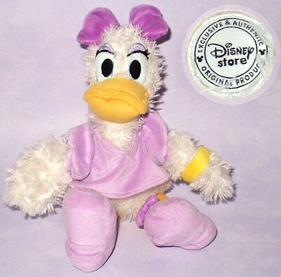 "DAISY DUCK IN PINK OUTFIT - DISNEY STORE EXCLUSIVE 14"" PLUSH SOFT TOY Donald VGC"
