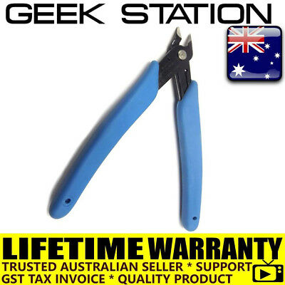 Electrical Wire Cable Cutter Cutting Plier Side Snip Flush Pliers Tool 5 inch