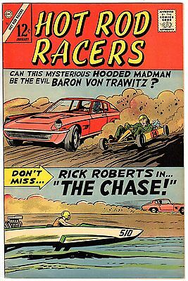 Hot Rod Racers # 12, Jan 1967 VF Cond.